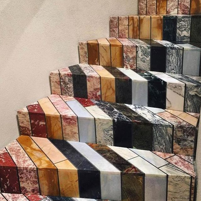 image: Mosaic Stairs by jasoncampbellstudio