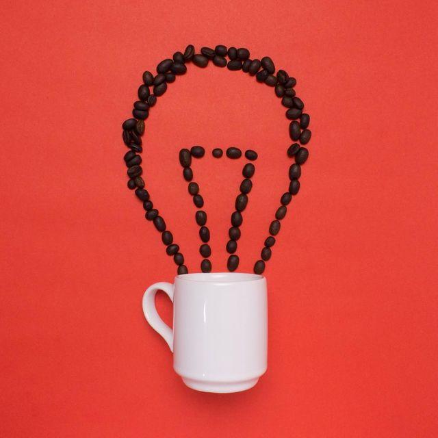 image: Coffee is always a good idea! ☕️💡 #coffee #abduzzedo #meetkvell #fubiz #idea #visualart #artwork #design #creative by javierperezart