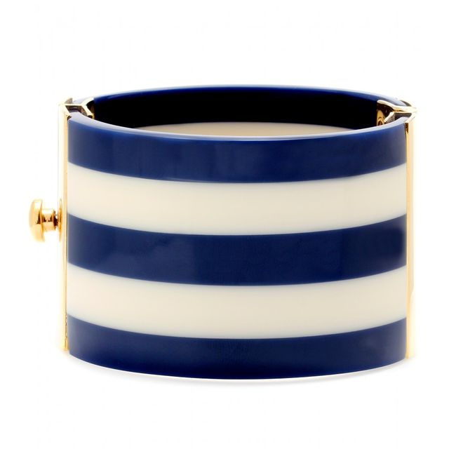image: Striped Navy Bracelet by xerryberry