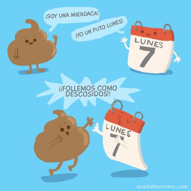 image: LUNES DE MIERDA by anabelenrivero