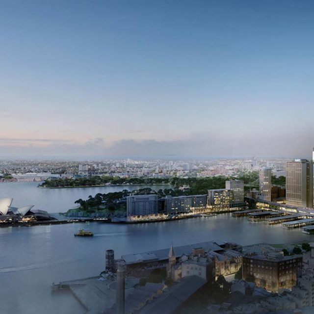 image: quay quarter tower by 3XN overlooks the sydney opera... by mundanebeige