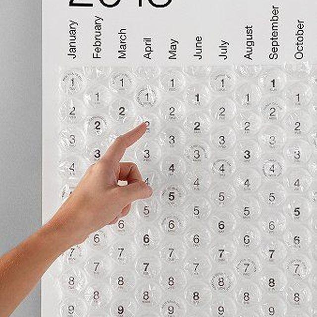 image: Bubble Calendar : Wantist by 3punto1