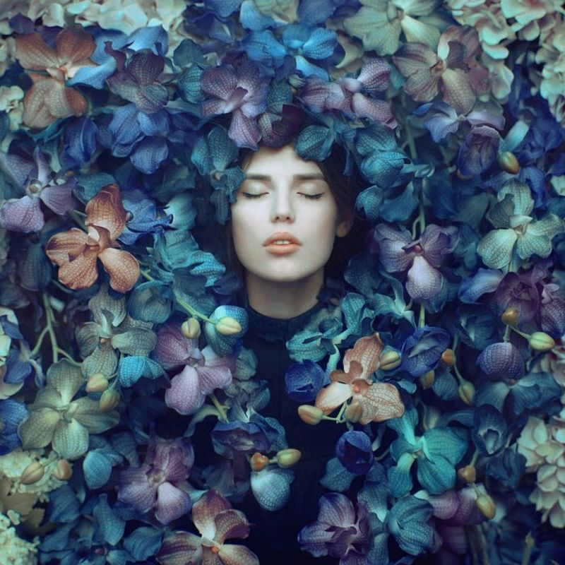 image: Flowers&Girl by oprisco