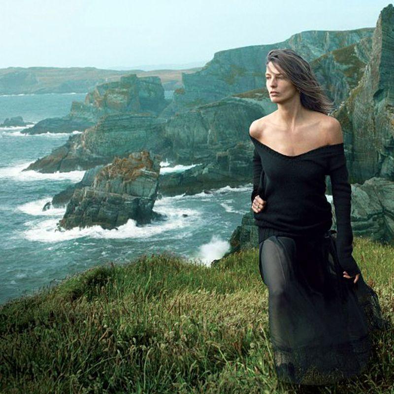 image: Wild Irish Rose: Adam Driver and Daria Werbowy by fashionnet
