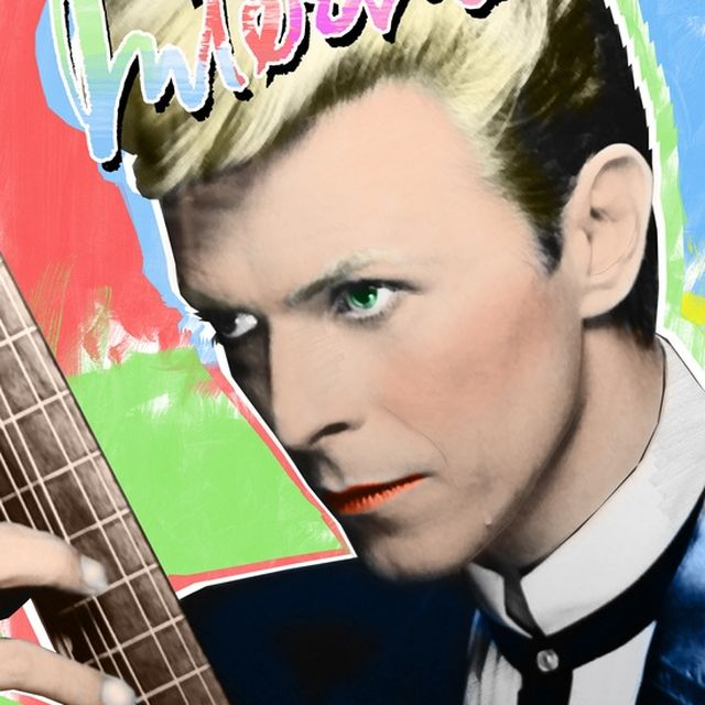 image: (Tribute to Richard Bernstein) / David Bowie by octavioterol