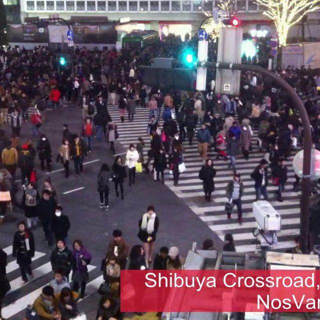 video: Shibuya Crossroad - NosVamos.es on Vimeo by rutenca