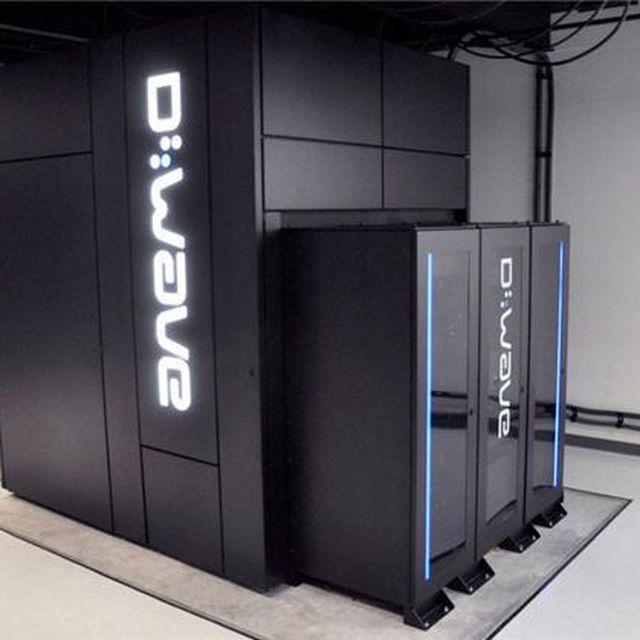 image: El ordenador cuántico D-Wave 2 de Google by josemi