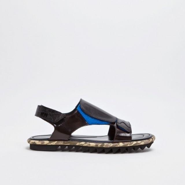 image: Dries Van Noten Velcro Strap Sandal by pablo-p-sanmartin