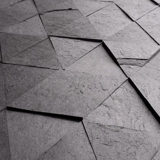 image: Slate-like Tiles Made From Recycled Scrap Paper Lami... by andreagenova