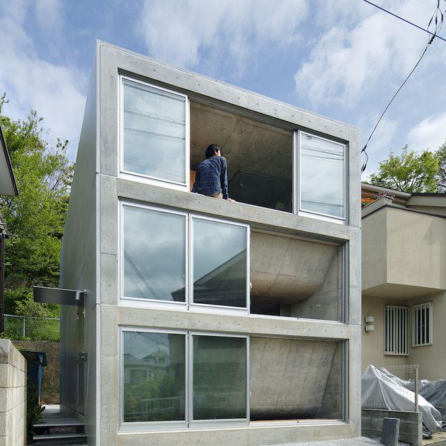 image: House in Byoubugaura by Takeshi Hosaka by availableviridian