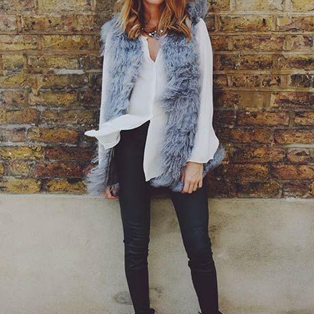 image: cozy fur and hat by anicorona