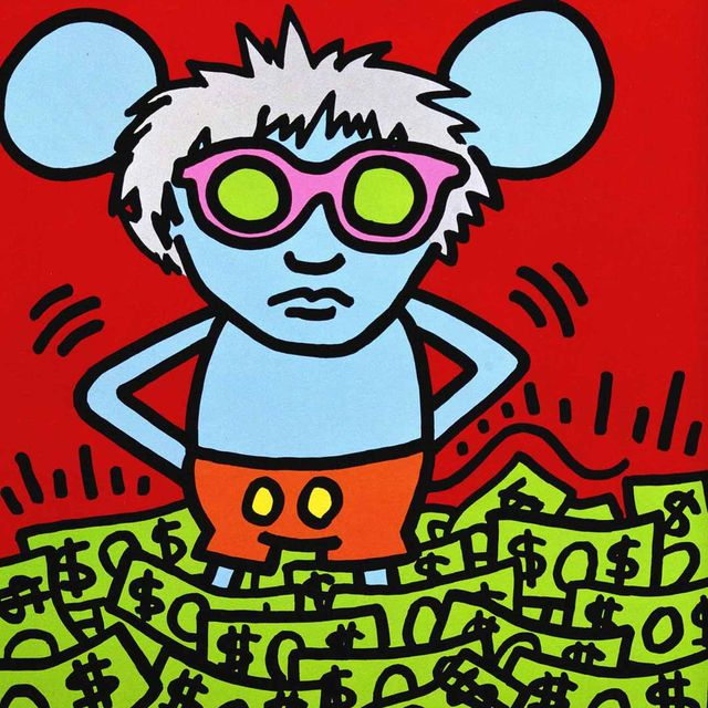 image: Andy's Mouse by keith_haring