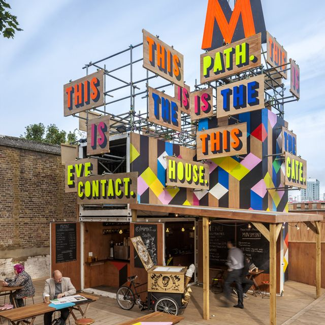 image: MOVEMENT POP UP CAFE- LONDON by allerretour