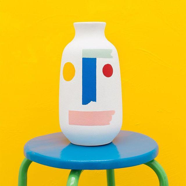 image: #vase #mireiaysuscosas #colormadefrombarcelona #cocolia #ceramic #handpainted #cocoliastudio #mireiaruiz by mireiaysuscosas