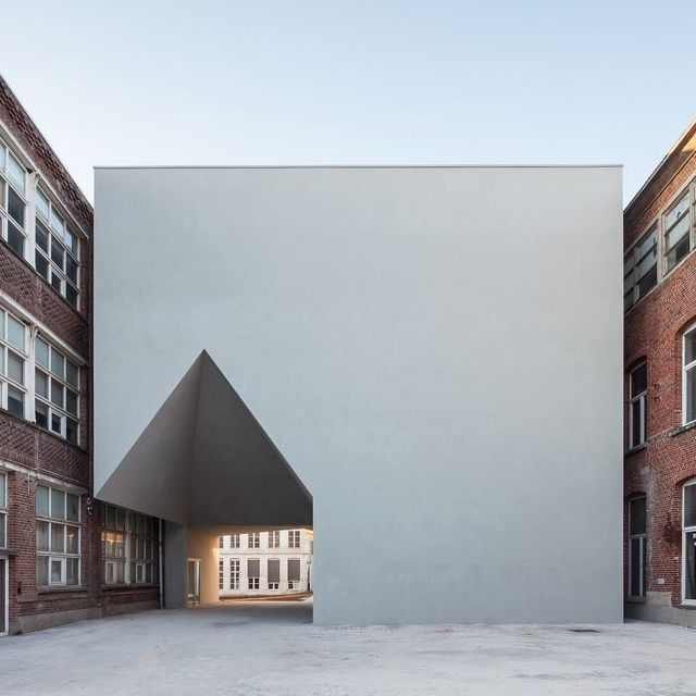 image: Faculty in Tournai by Aires Mateus by architizer