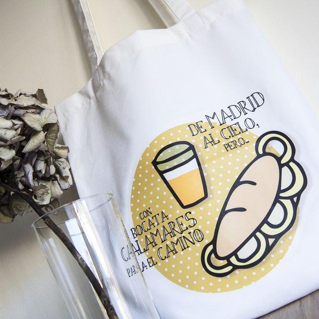 """image: Tote Bag """"De Madrid al cielo"""" / Rite Rite by rite_rite"""