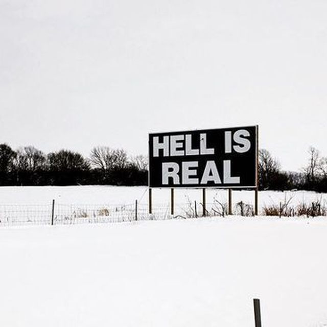 image: HELL EXISTS by helpers
