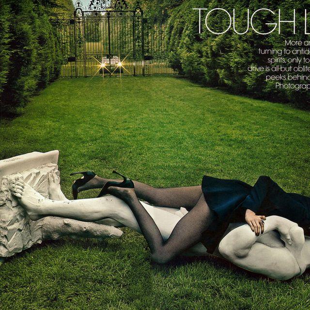 image: US Vogue July 2013 by miloudouze