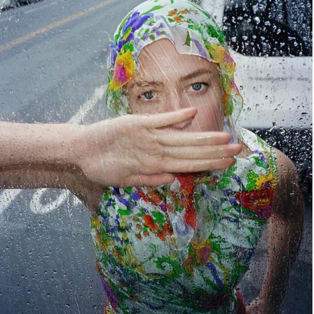 image: Rain Rain Rain #TBF @selfservicemagazine @raquel_zimmermann  @ondineazoulay @hannah_murray1 @estherlangham @dnamodels by cassbird