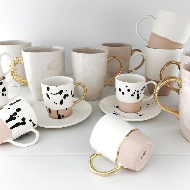 image: Handmade...by Katarzyna Malik.#p_roduct•#product #productdesign #mug #ceramics #poland #handmade #coffee #coffeelover #coffeetime by product