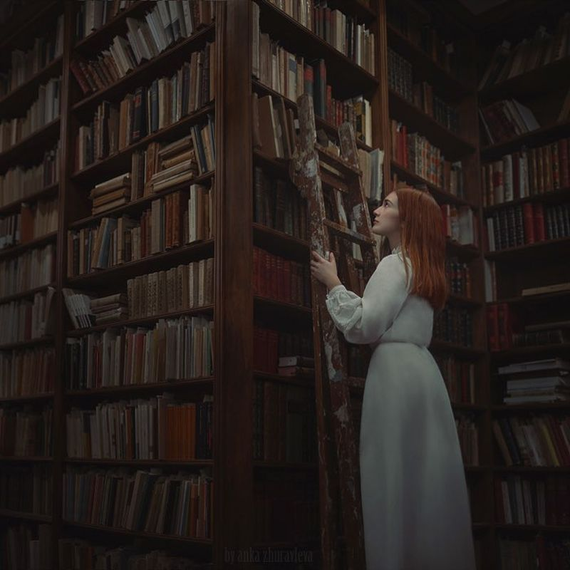 """image: for the """"bookworm""""...taken during my workshop in... by ankazhuravleva"""