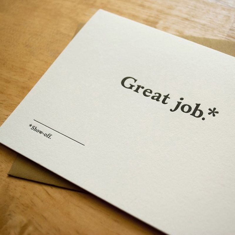 image: Congratulations Card by Old Tom Foolery by bhermida