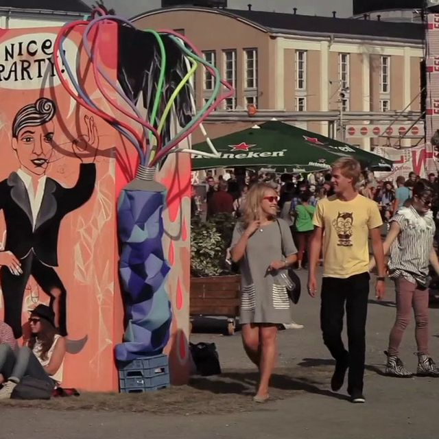video: Flow Festival 2013 Teaser by stiina