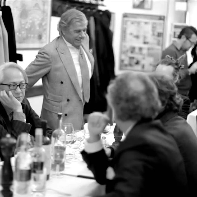 video: A CELEBRATION OF STYLE__Lunch For 25___Scott Schuman by nvm