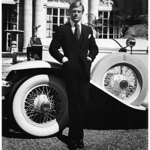 image: Robert Redford. The Great Gatsby by moisesmm10