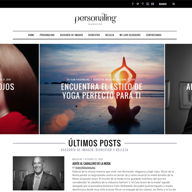 image: Personaling Magazine: Nuevo diseño by aidaps