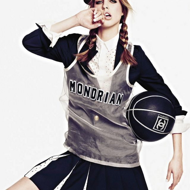 image: Basketball chic girl by mariodelarenta