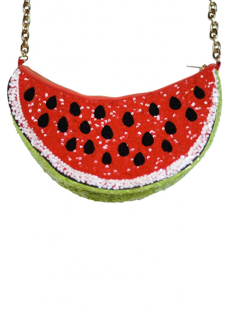image: Sequin Watermelon Bag by sweet-olivia