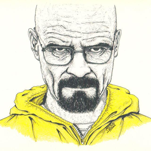 image: Breaking Bad's Walter White by marta_brandariz