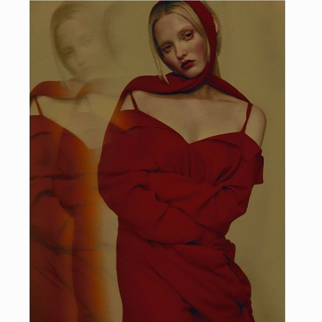 image: to my inner self.#woman #fashioneditorial # by azahara