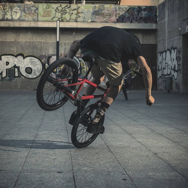 image: No handed hang-5 by @monkiki_bmx last year in Valencia!  by moya_flat