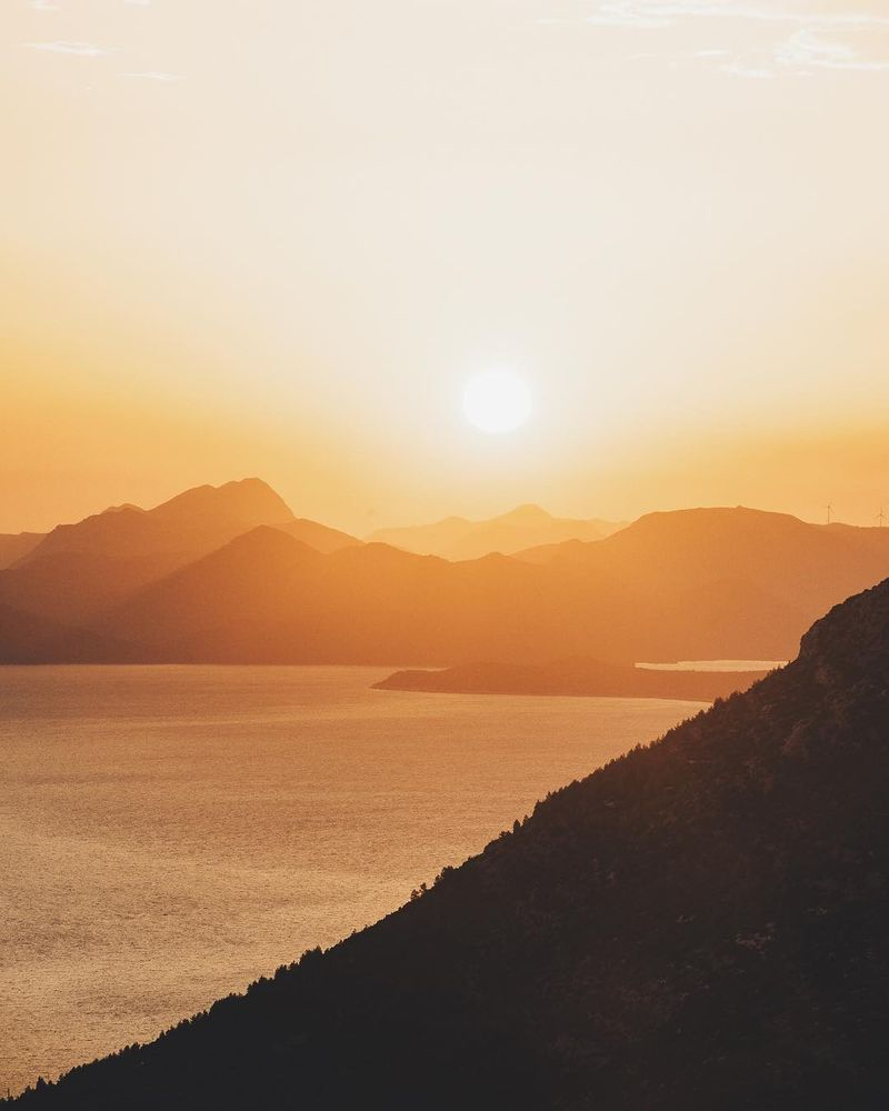image: Sunsets on the Dalmatian coast in Croatia have that little something that I haven't found in Greece or other Mediterranean countries. Obviously the peaky islands of the Adriatic help give that dramatic look, but being able to watch sunset from a higher... by lebackpacker