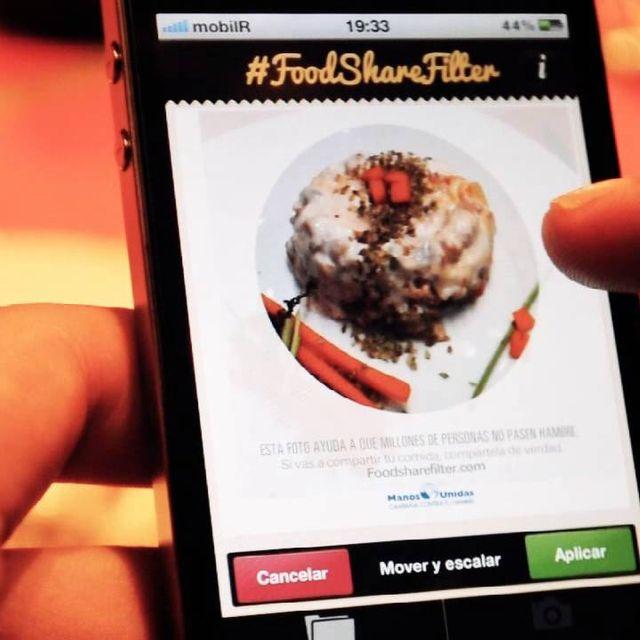 video: Manos Unidas - #FoodShareFilter by Aiia