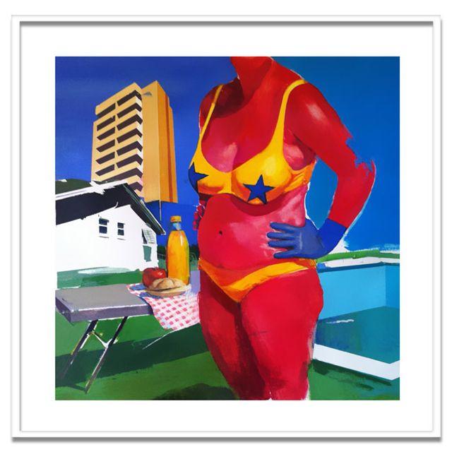 """image: """"Ciudad Paraíso"""", obra de Yani Alonso. Twin Gallery by twin"""