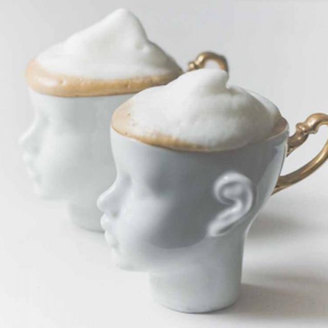 image: Porcelain Head Cup Set | Uncovet by decmykargb