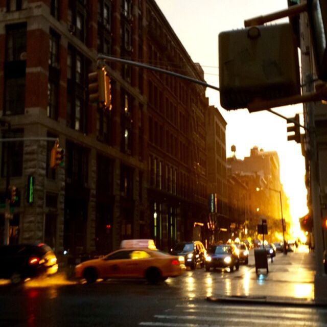 image: sunset in Manhattan by elizabethjlocke