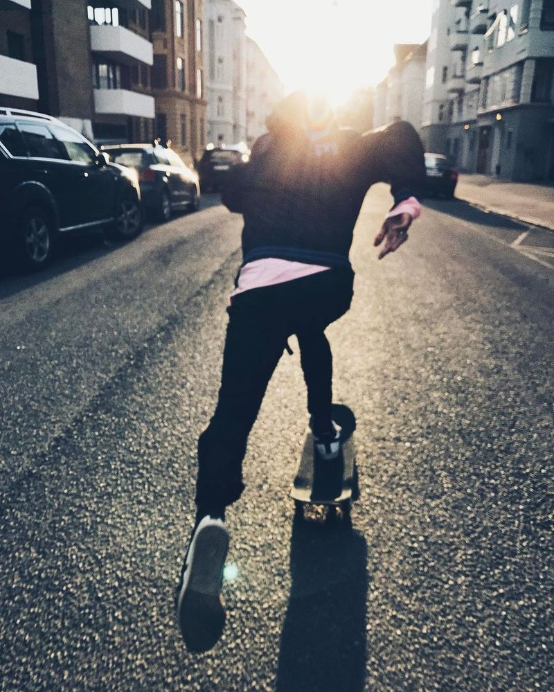 image: Skating around Oslo with my B @chrisabolade ?? #photoME by stalesandbech