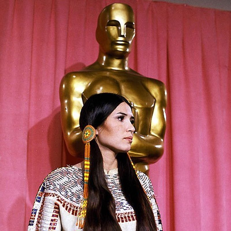 image: Sacheen Littlefeather's speech during the 1973 Oscars. A must watch. by 70sbabes