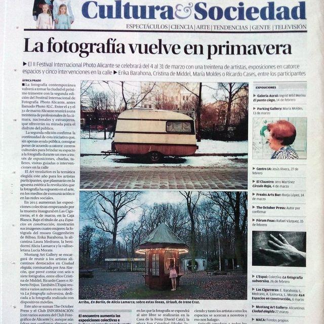 image: Urlaub XVI en La información. by irenecruz