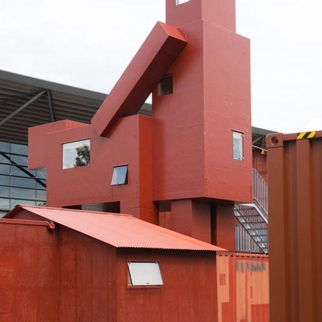 image: The Building by neverdiscrete