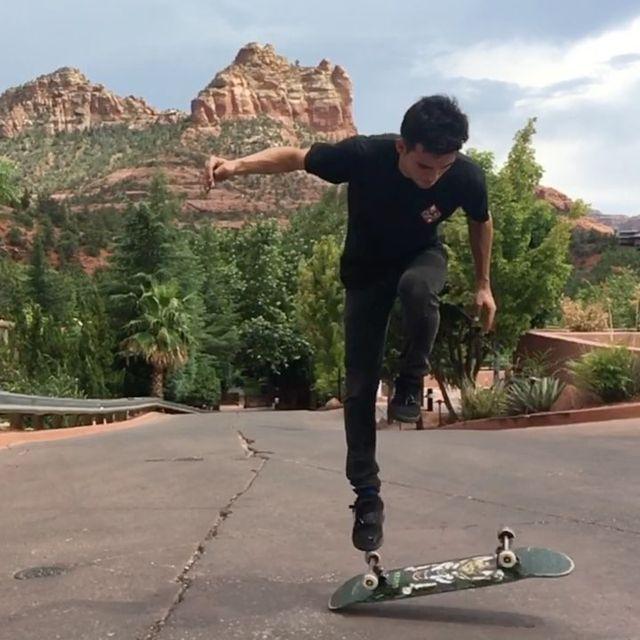 image: Skating Sedona,AZ ?Bounce to crossfoot.Gymnastic plant.? @craighyatt by kilianmartinsk81