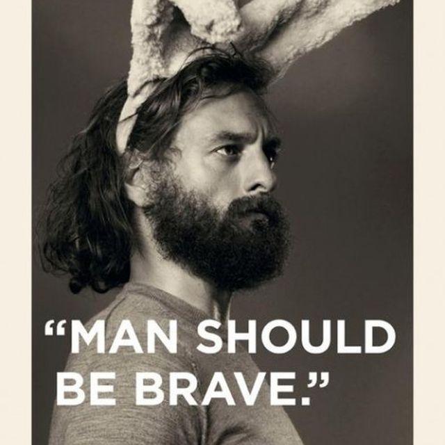 image: Man should be brave by roman-dante