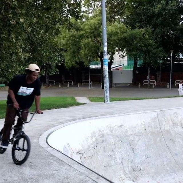 image: skatepark stuff ??♂️/ ? @danixsep #bmx #flybikes #animalbikes #backwardgame by courageadams