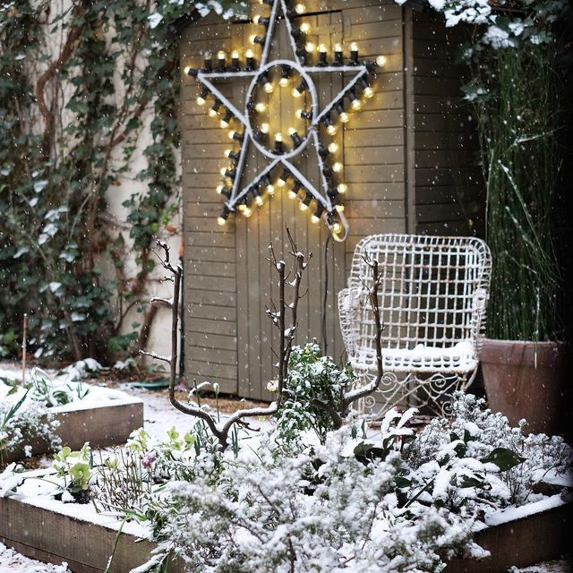 image: Magic garden @merciparis #underthesnow #parisianlife #merciparis #paris #mespetitespaillettes #neige #picoftheday #photography #stars by mespetitespaillettes