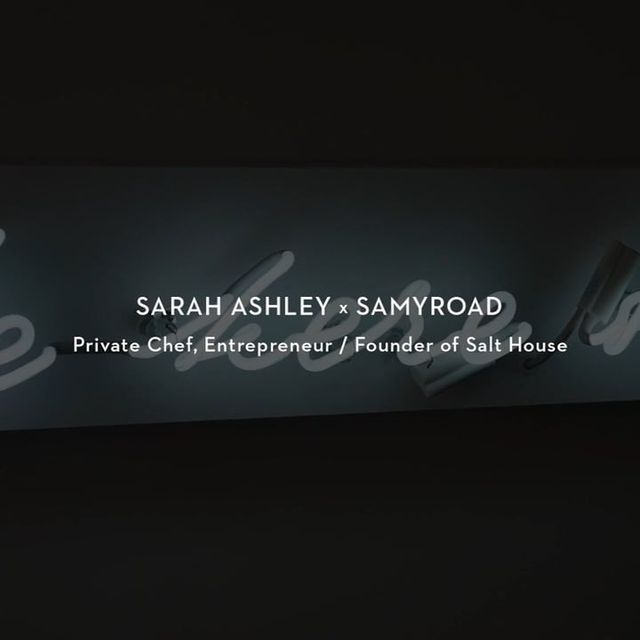 video: Sarah Ashley x SamyRoad on Vimeo by lm