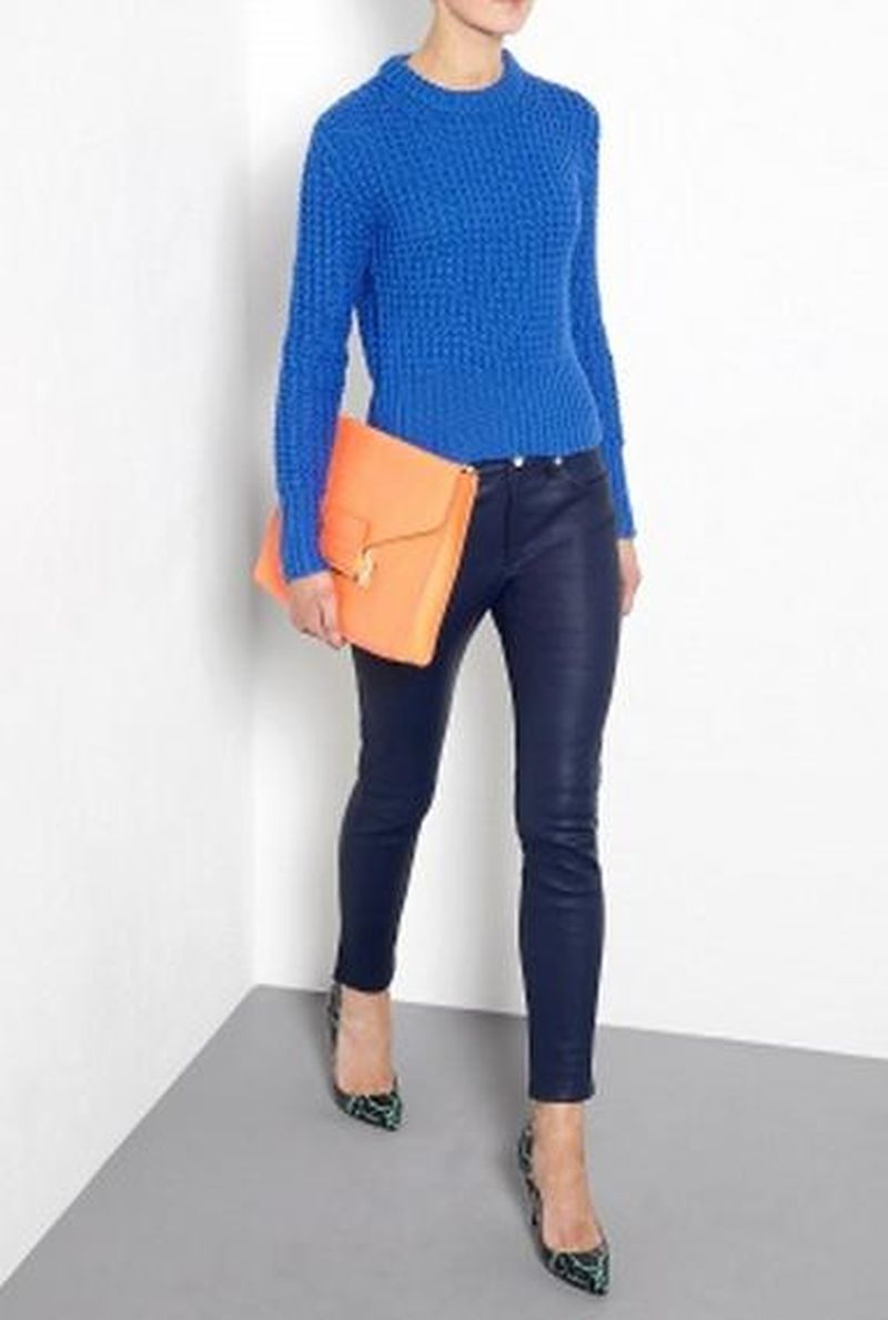 image: Acne Blue Jumper by james-the-creator